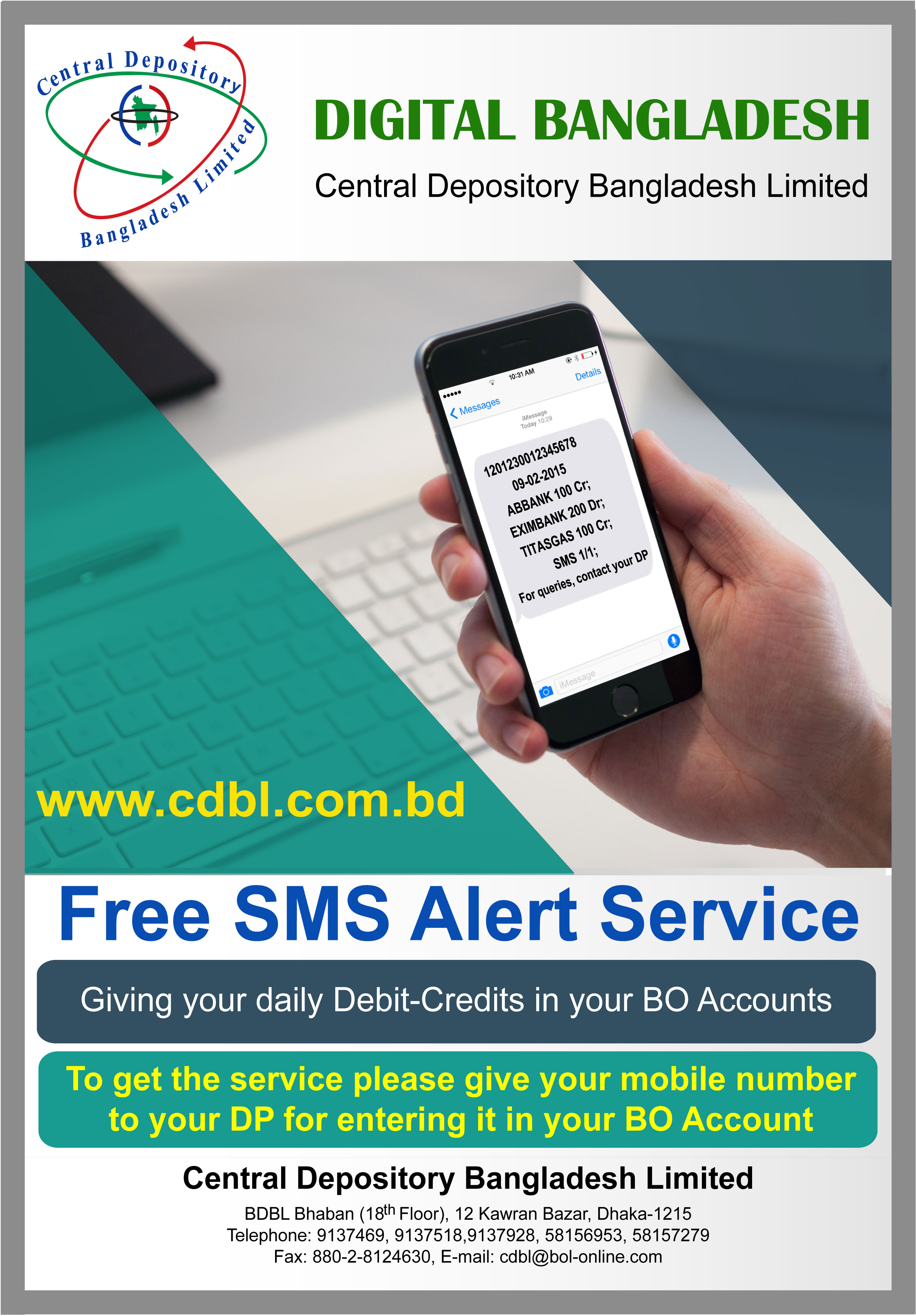 Send Free SMS To Bangladesh - Social Land